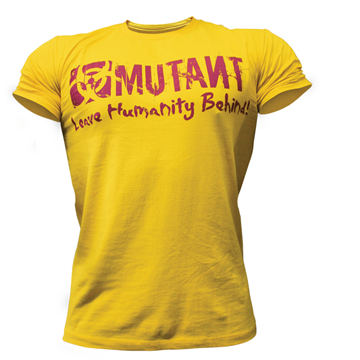 Picture of Mutant T-Shirt Yellow