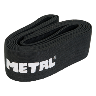 Picture of Metal Knee Wraps Black