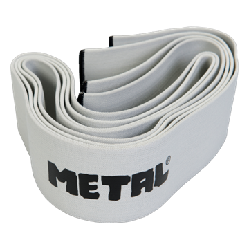 Picture of Metal Knee Wraps Silver
