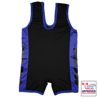 Picture of Metal Black/Blue Singlet IPF Approved