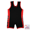 Picture of Metal Black/Red Slim Fit Singlet IPF Approved