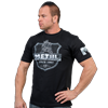 Picture of Metal Arms T Shirt Black