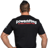 Picture of Metal Powerlifting T Shirt Black