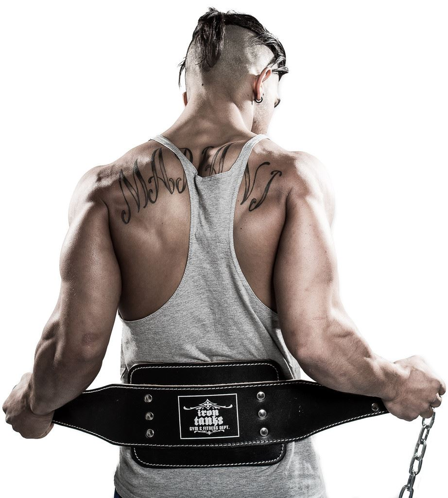 Iron Tanks Heavy Duty Leather Dipping Belt