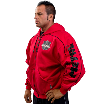 Picture of Metal Hoodie Red
