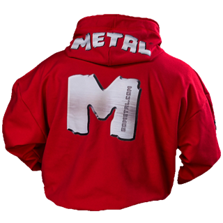 Picture of Metal M Hoodie Red