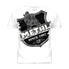 Picture of Metal Arms T Shirt White