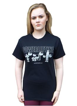 Picture of Powerlifting T-Shirt Black