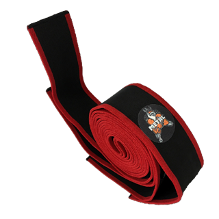 Picture of Metal Knee Wraps 3M Black N Red
