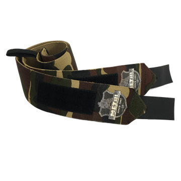 Picture of Metal Wrist Wraps Hard Camo IPF Approved