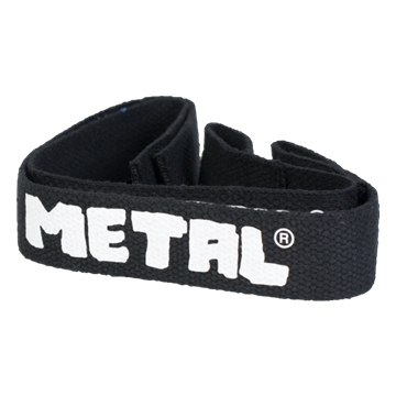 Picture of Metal Lifting Straps Black