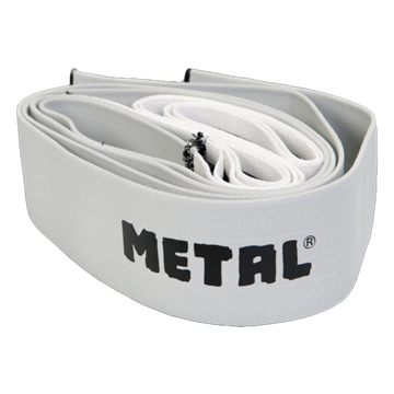 Picture of Metal Knee Wraps Mystical Silver