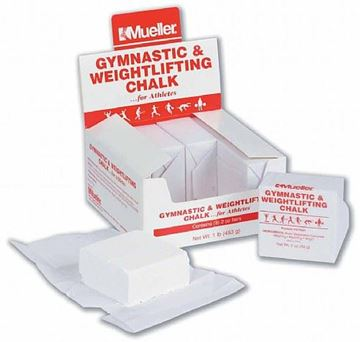 Picture of Mueller Weightlifting Chalk 2oz Solid Block - Case of 8
