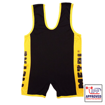 Picture of Metal Black/Yellow Singlet IPF Approved