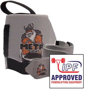 Picture of Metal Wrist Wraps Silver IPF Approved