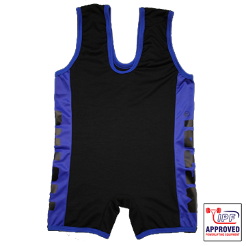 Picture of Metal Black/Blue Slim Fit Singlet IPF Approved