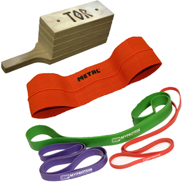 Picture for category Resistance Bands, Catapults and Bench Boards
