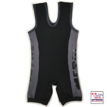 Picture of Metal Black/Grey Slim Fit Singlet IPF Approved