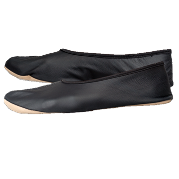 Picture of Metal Leather Deadlift Slippers